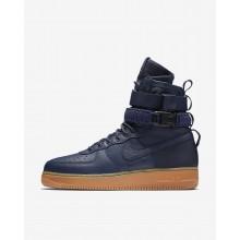 Nike SF Air Force 1 Casual Schoenen Heren Donkerblauw/Zwart/Bruine 127VGSZX
