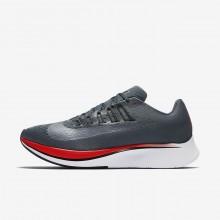 Nike Zoom Fly Running Shoes For Men Blue Fox/Bright Crimson/University Red/Black 602PBXTQ