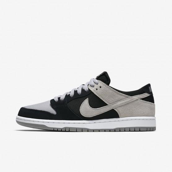 Tenis Skate Nike SB Dunk Low Pro Homem Pretas/Branco/Cinzentas 738SRKXP
