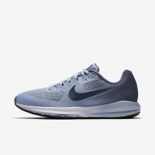Nike Air Zoom Structure 21 Running Shoes For Women Armory Blue/Cirrus Blue/Cerulean/Armory Navy 657VASDN