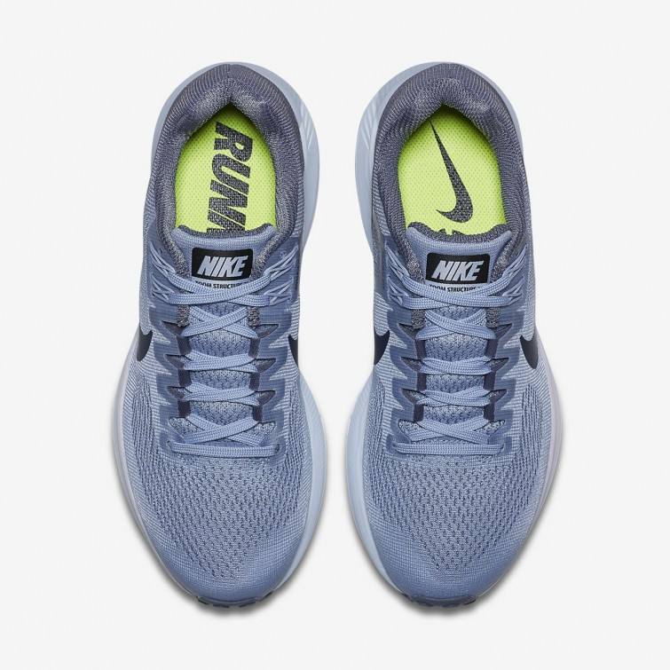 3d6f0ecf1d096 ... Nike Air Zoom Structure 21 Running Shoes For Women Armory Blue Cirrus  Blue Cerulean ...