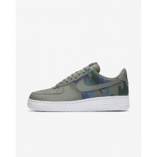 Nike Air Force 1 07 Low Camo Lifestyle Shoes For Men Dark Stucco/Dark Raisin/Vintage Green 788IRXDW