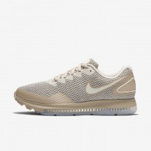 Zapatillas Running Nike Zoom All Out Low 2 Mujer Gris Claro/Doradas 255IQUKF