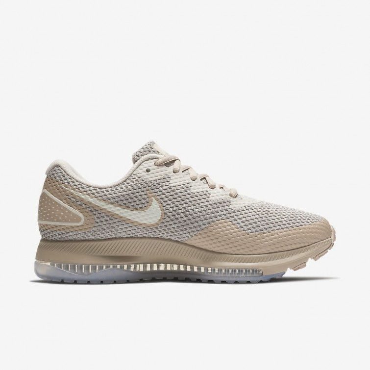 4617c0a635a61 ... Nike Zoom All Out Running Shoes Womens Moon Particle Sand Sail 970MRCKX  ...