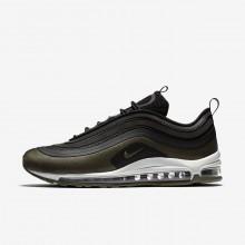 Nike Air Max 97 Ultra 17 HAL Lifestyle Shoes For Men Black/Medium Olive/Light Pumice/Dark Hazel 327NUFMA