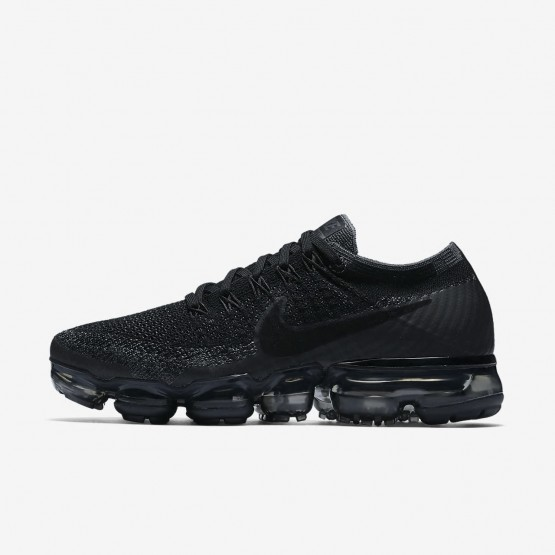 Nike Air VaporMax Flyknit Running Shoes For Women Black/Dark Grey/Anthracite 148LNRGY