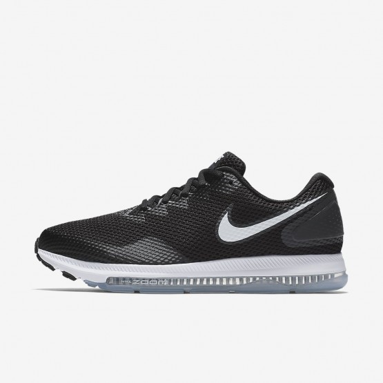 Nike Zoom All Out Low 2 Running Shoes For Men Black/Anthracite/White 884UDFJK