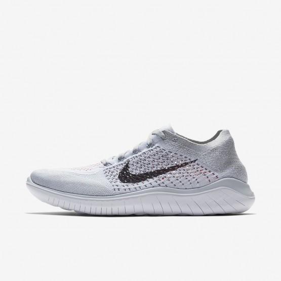 Sapatilhas Running Nike Free RN Flyknit 2018 Homem Platina/Branco/Cinzentas/Pretas 554BRVCN
