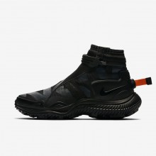Zapatillas Casual Nike Gaiter Hombre Negras/Naranjas 810MXVYU
