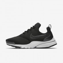 Nike Presto Fly SE Lifestyle Shoes For Women Black/White/Metallic Hematite 971QEKJS