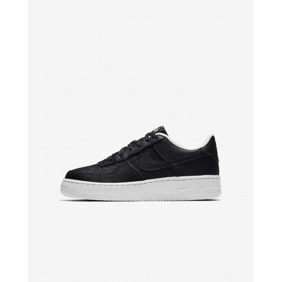 Nike Air Force 1 LV8 Lifestyle Shoes For Boys Black/Summit White 845IWPHS