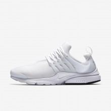 Nike Air Presto Essential Lifestyle Shoes For Men White/Black 328UMSCB