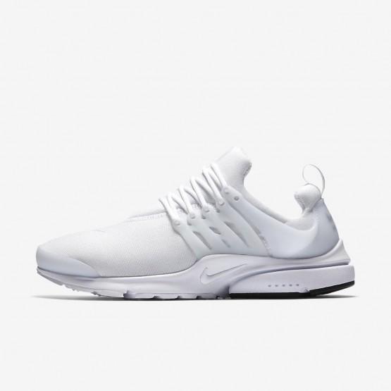 Nike Air Presto Essential Lifestyle Shoes For Men White/Black 328UMSCB