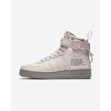 ece92da36021 Nike SF Air Force 1 Mid Lifestyle Shoes For Women Siltstone Red Dust  662XOSEK