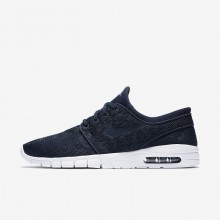 Nike SB Stefan Janoski Max Skateboarding Shoes For Men Obsidian/Mineral Gold 123RATEZ