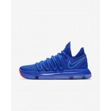 Nike Zoom KDX Basketbalschoenen Dames Blauw/Zwart/Licht 378CFLBT
