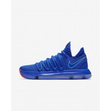 Nike Zoom KDX Basketballschuhe Damen Blau/Schwarz/Hell 196CHMOT