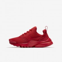 Nike Presto Fly Lifestyle Shoes For Boys University Red 727HJAZW