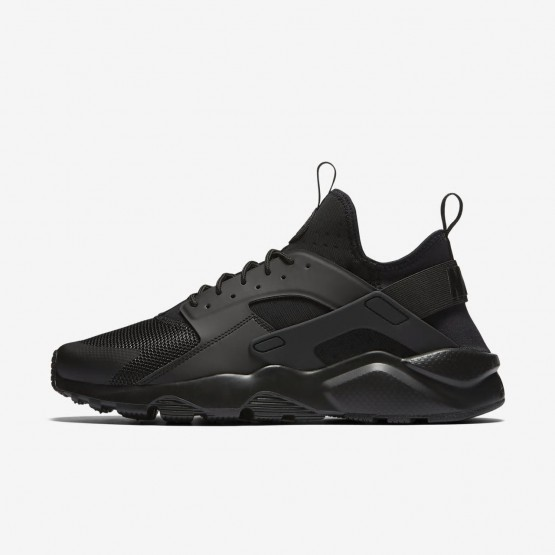 Nike Air Huarache Ultra Lifestyle Shoes For Men Black 251LVXDB