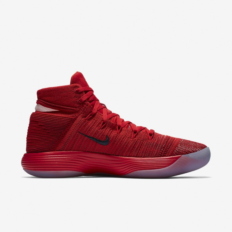 81ecc5cd1542 ... Nike React Hyperdunk 2017 Flyknit Basketball Shoes For Women University  Red Reflect Silver 811XTPGR ...