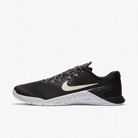Nike Metcon 4 Fitness Schoenen Heren Zwart/Wit 317DUHXZ