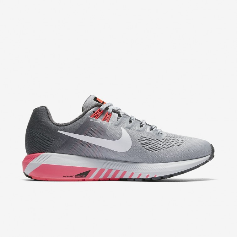 071f06ad9905b ... Nike Air Zoom Structure 21 Running Shoes For Women Dark Grey Wolf Grey Hot  ...