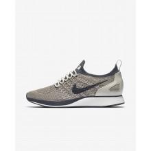Nike Air Zoom Mariah Flyknit Racer Lifestyle Shoes For Women Pale Grey/Summit White/Light Bone/Dark Grey 795SGAYC