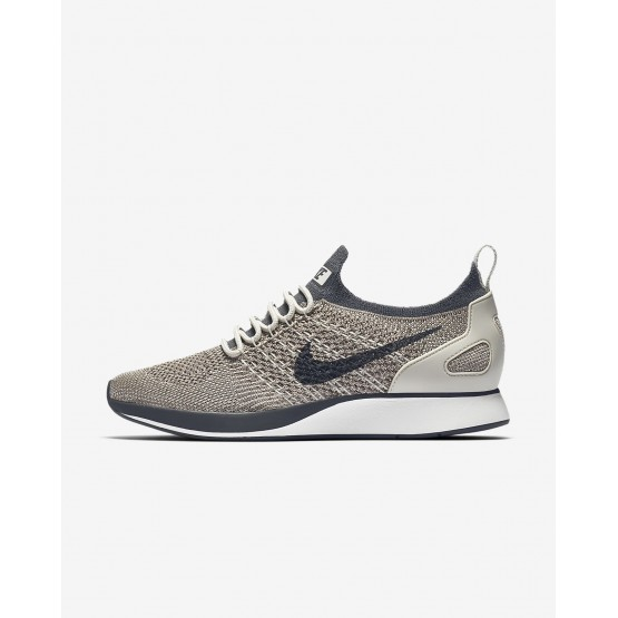 Nike Air Zoom Mariah Flyknit Racer Casual Schoenen Dames Grijs/Wit/Licht/DonkerGrijs 731NQDJS
