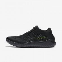 Zapatillas Running Nike Free RN Flyknit 2018 Mujer Negras 363RIEKU