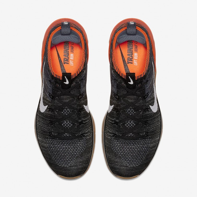 f80a63b17562 ... Nike Metcon DSX Flyknit 2 Training Shoes For Men Black Hyper  Crimson Light Carbon ...