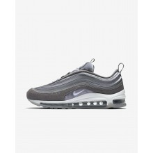 Nike Air Max 97 Ultra 17 LX Lifestyle Shoes For Women Atmosphere Grey/Gunsmoke/Summit White 953MBSAH