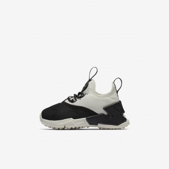 Nike Huarache Run Drift Freizeitschuhe Mädchen Schwarz/Weiß 999IHCXV
