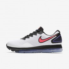 Nike Zoom All Out Low 2 Running Shoes For Women White/Black/Solar Red 791WYRKE