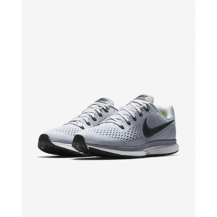 6aed22c4ccb7e ... Nike Air Zoom Pegasus 34 Running Shoes For Men Pure Platinum Cool  Grey Black