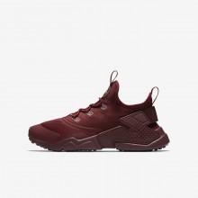 Chaussure Casual Nike Huarache Run Drift Garcon Rouge/Blanche 192CWROL