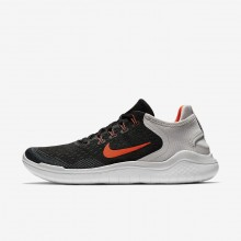 Zapatillas Running Nike Free RN 2018 Hombre Negras/Gris/Blancas 339HLMCD