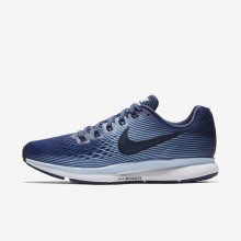 Nike Air Zoom Pegasus 34 Running Shoes For Women Blue Recall/Royal Tint/Black/Obsidian 629XPRSJ