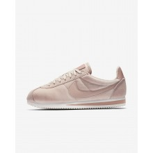 Nike Cortez SE Lifestyle Shoes For Women Particle Beige/Metallic Gold/Particle Pink 298CFWIB