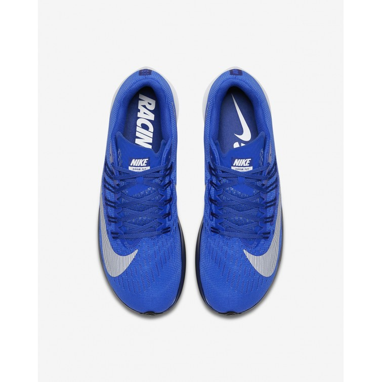 3df2020f897f ... Nike Zoom Fly Running Shoes Mens Hyper Royal Deep Royal Blue Black White  ...
