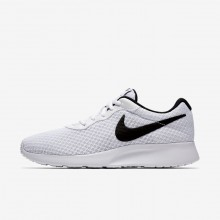Nike Tanjun Lifestyle Shoes For Women White/Black 279WXLVJ