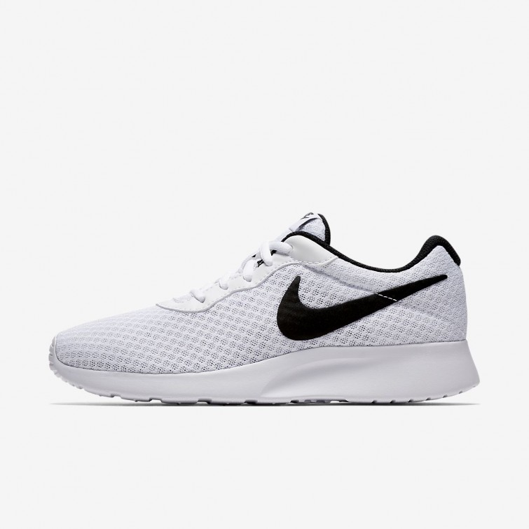 buy popular a90af f1a09 Nike Tanjun Lifestyle Shoes Womens White Black 775RBCWU