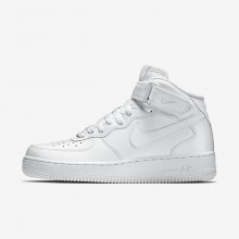 Nike Air Force 1 Mid 07 Lifestyle Shoes For Men White 238OVDHY