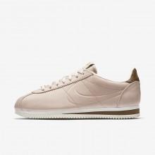 Nike x Maria Sharapova Classic Cortez LA Lifestyle Shoes For Women Particle Beige/Orange Quartz/Sail 942NPZCA