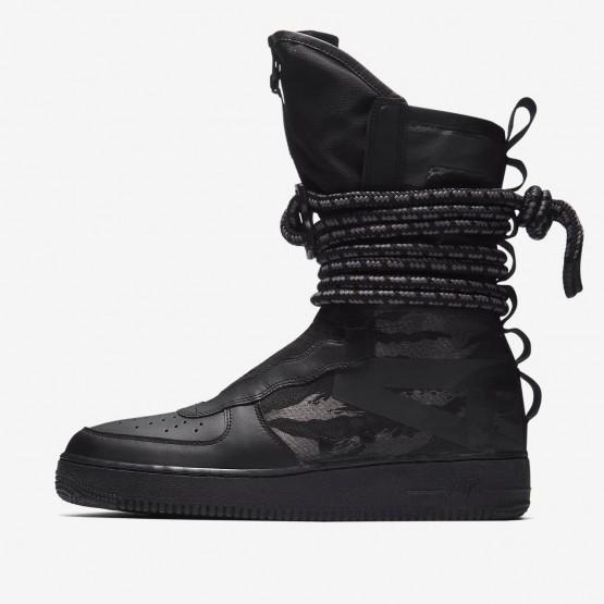 Nike SF Air Force 1 Hi Casual Schoenen Heren Zwart/DonkerGrijs 853EBHIJ