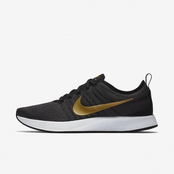 Sapatilhas Casual Nike Dualtone Racer SE Mulher Pretas/Cinzentas Escuro/Branco/Metal Douradas 811UJGVZ