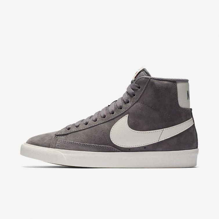 hot sale online ddb0b b2b84 Nike Blazer Mid Vintage Casual Schoenen Dames Zwart 817AXKQM