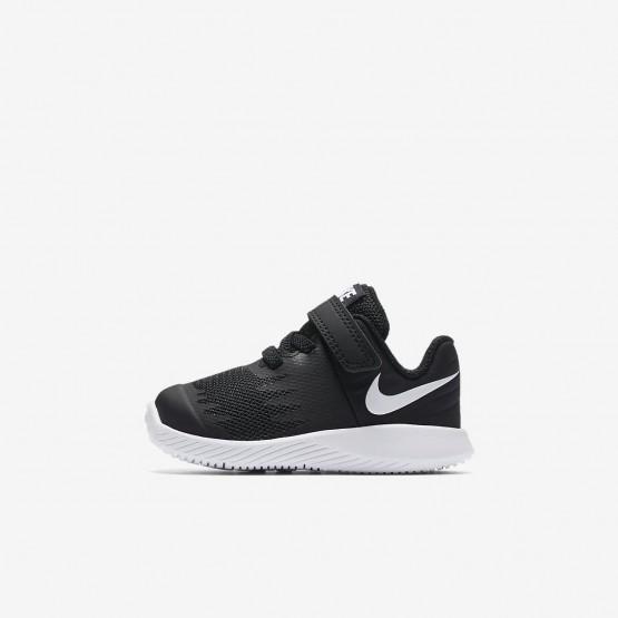 Nike Star Runner Hardloopschoenen Meisjes Zwart/Wit 513IFCEU