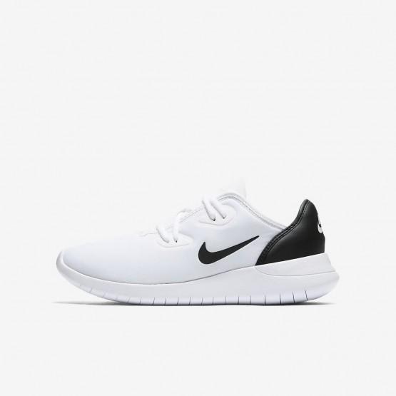 Nike Hakata Lifestyle Shoes For Boys White/Black 335SAMFW