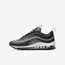 Nike Air Max 97 Ultra 17 Lifestyle Shoes For Boys Black/Anthracite/White/Pure Platinum 211SIJKX